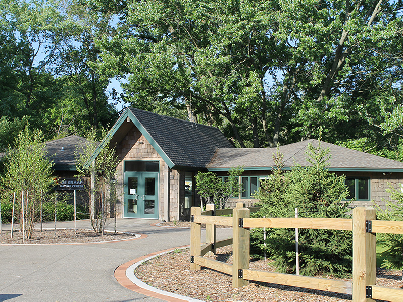 DeGraaf Visitor Center Entrance
