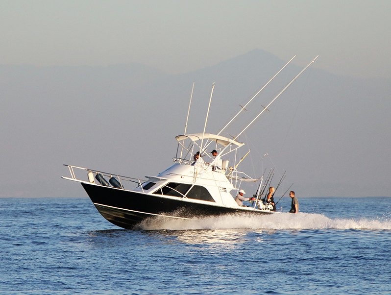 Fishing Vessel cruising in Guatemala