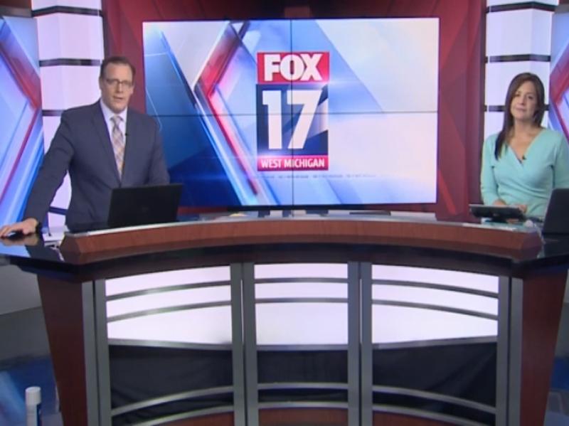 Fox 17 Broadcast Studio
