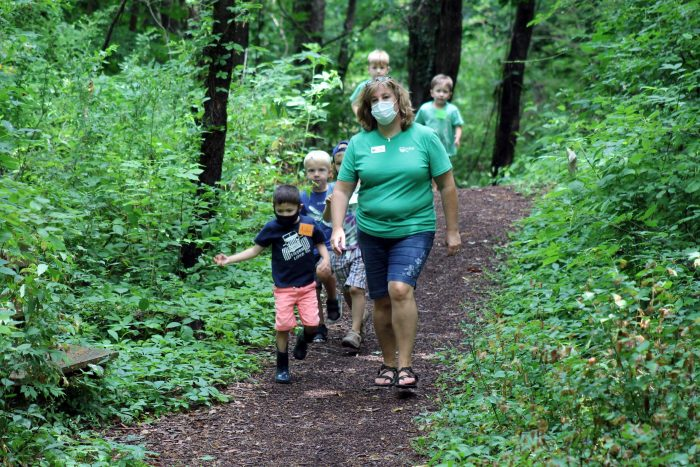 Traditional Field Trips: We safely welcome fieldtrip groups to the Outdoor Discovery Center and DeGraaf Nature Center using outdoor spaces and our Covid-19 Stop the Spread Protocols.